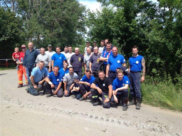 Medzinárodné cvičenie jednotiek dobrovoľných hasičov