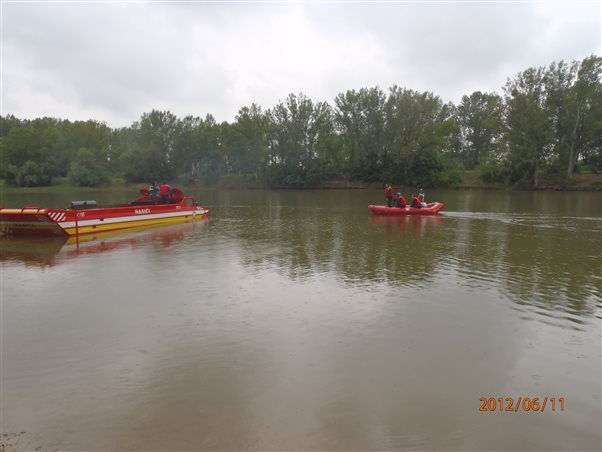 Exercise focused on flood management in Sered