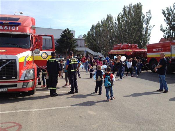 DHZ POLE at  Police Day in Trnava