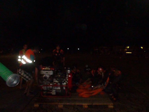 Nočná súťaž DHZ vo Voderadoch