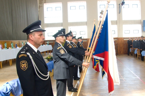 Slovak firefighters received acknowledgement by the Czech Republic