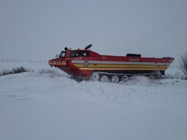 """Cvičenie """"Evakuácia pri snehovej kalamite"""""""
