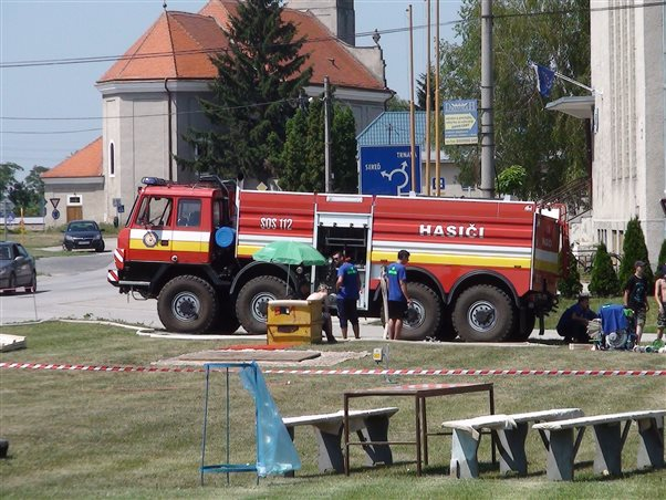 Competition of Voluntary Fire Brigades in Šúrovce