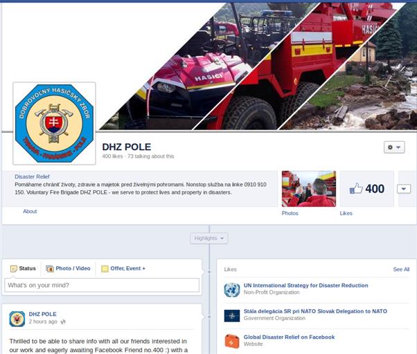 Oslavujeme 400+ priateľov na Facebooku a 250+ nasledovníkov na Twitteri