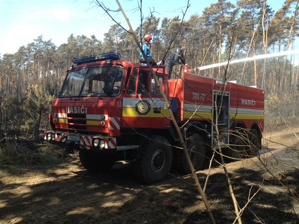 Completion of intervention DHZ field against forest fires in Bzenci