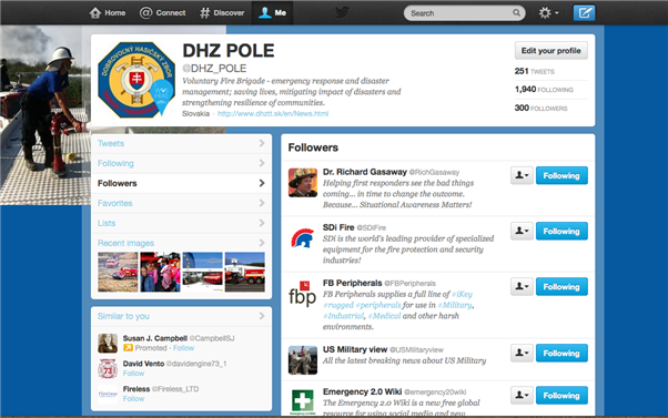 DHZ POLE oslavuje 300+ stálych odberateľov na sieti Twitter