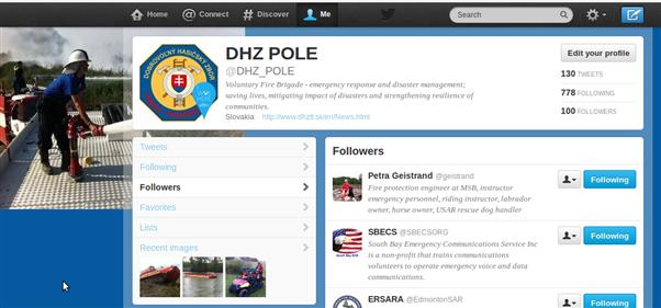 DHZ POLE oslavuje 100+ stálych odberateľov sieti Twitter