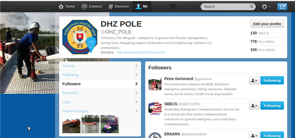 DHZ POLE celebrating 100+ followers on Twitter